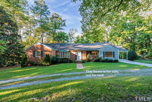 821 Mt Carmel Church Road, Chapel Hill, NC 27517 (#2410352) :: Raleigh Cary Realty