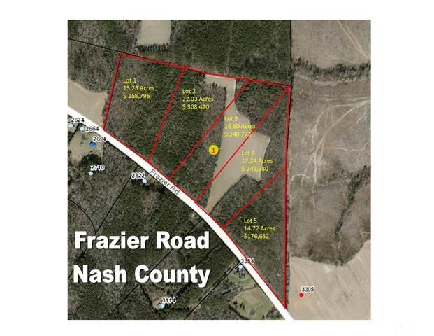 Lot 1 Frazier Road, Spring Hope, NC 27882 (#2412988) :: Scott Korbin Team
