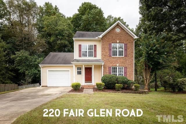 220 Fair Glen Road, Holly Springs, NC 27540 (#2413231) :: Rachel Kendall Team