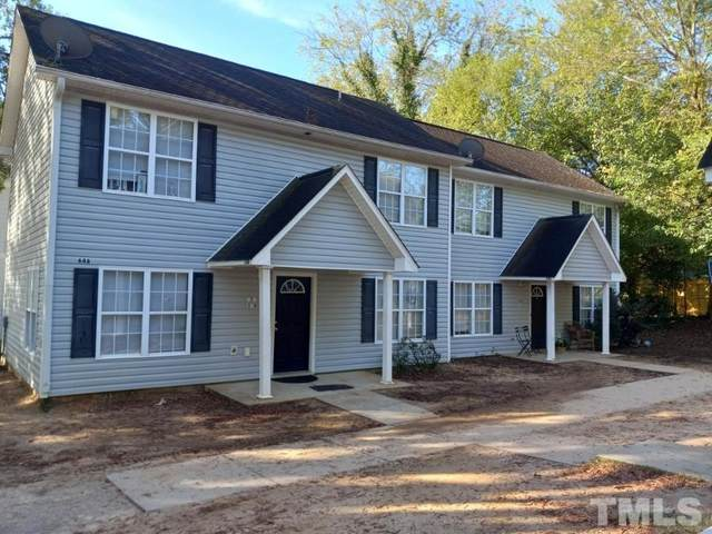 646 Coleman Drive 100 - 101, Raleigh, NC 27610 (#2413521) :: Raleigh Cary Realty