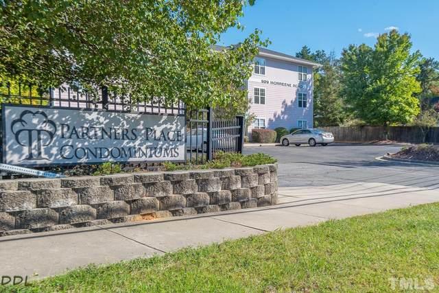 929 Morreene Road A13, Durham, NC 27705 (#2414804) :: Triangle Top Choice Realty, LLC