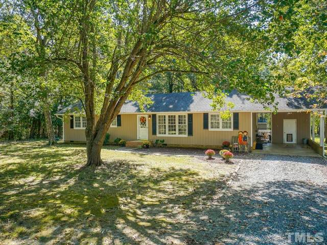 421 Bruce Burns Road, Moncure, NC 27559 (#2415056) :: The Perry Group