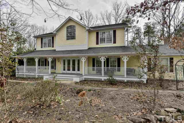 1004 Maple Ridge Road, Chapel Hill, NC 27516 (#2103688) :: The Jim Allen Group