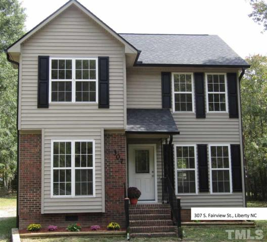 307 S Fairview Street, Liberty, NC 27298 (#2156077) :: Raleigh Cary Realty