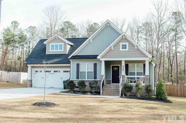 500 Wood Valley Drive, Four Oaks, NC 27524 (#2165284) :: The Jim Allen Group