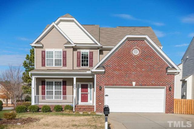 200 Sycamore Ridge Lane, Holly Springs, NC 27540 (#2165728) :: Rachel Kendall Team, LLC
