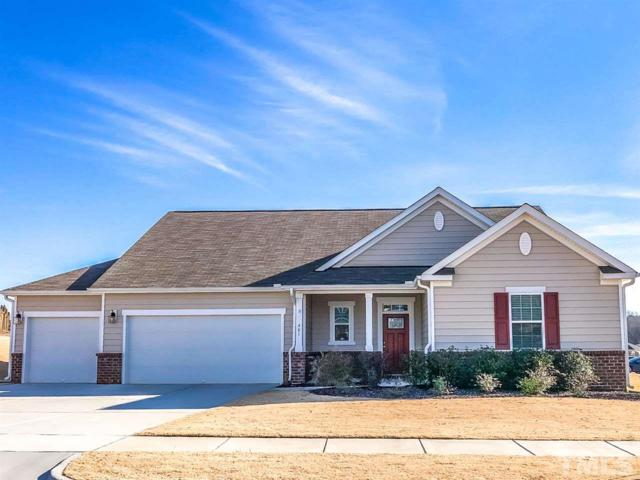 801 Teal Lake Drive, Holly Springs, NC 27540 (#2165987) :: The Jim Allen Group