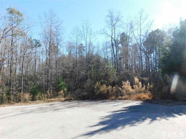 Lot 28 Whitney Drive, Louisburg, NC 27549 (#2166244) :: The Jim Allen Group