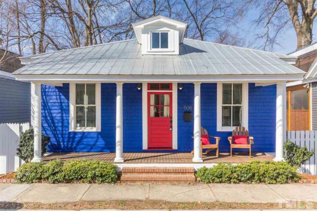 508 S Saunders Street, Raleigh, NC 27603 (#2173439) :: Triangle Midtown Realty