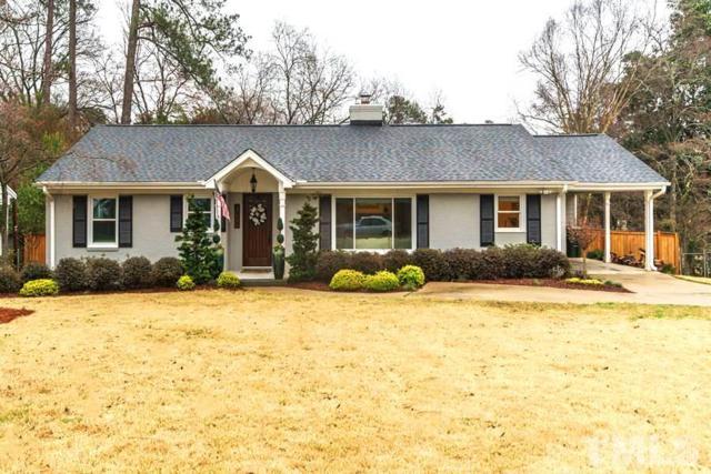 3000 Ridge Road, Raleigh, NC 27612 (#2178331) :: The Jim Allen Group