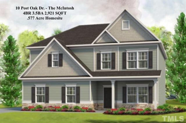 10 Post Oak Drive, Louisburg, NC 27549 (#2178963) :: The Abshure Realty Group