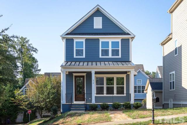 316 Della Street, Chapel Hill, NC 27516 (#2179945) :: Morgan Womble Group