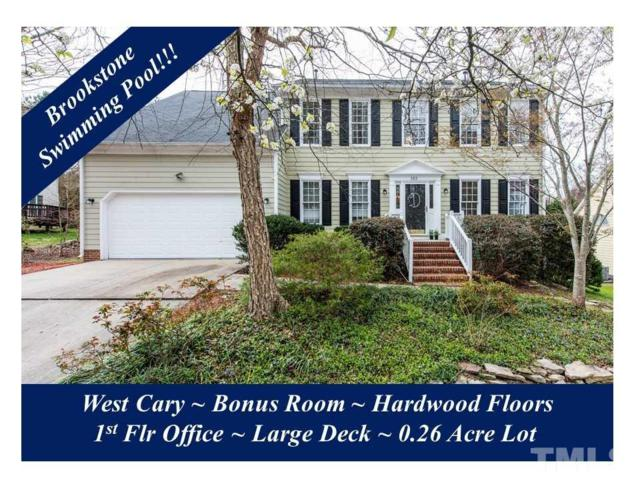 103 Lewey Brook Drive, Cary, NC 27519 (#2179979) :: The Abshure Realty Group