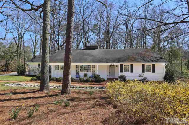 809 Old Mill Road, Chapel Hill, NC 27514 (#2180721) :: Rachel Kendall Team, LLC