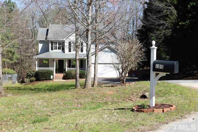 105 Creekbend Circle, Clayton, NC 27527 (#2182240) :: The Jim Allen Group