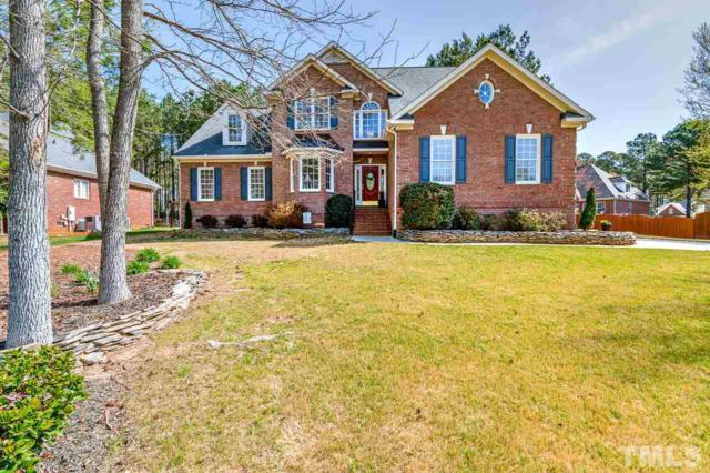 5912 Brushy Meadows Drive, Fuquay Varina, NC 27526 (#2182727) :: The Abshure Realty Group
