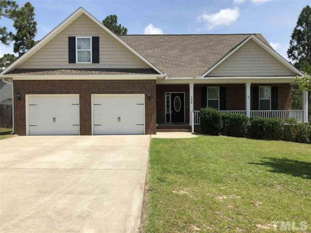 104 Blue Oak Drive, Lillington, NC 27546 (#2195497) :: The Abshure Realty Group