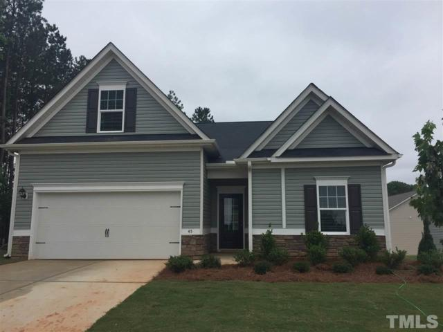 45 Deer Knoll Lane, Clayton, NC 27527 (#2199016) :: The Abshure Realty Group