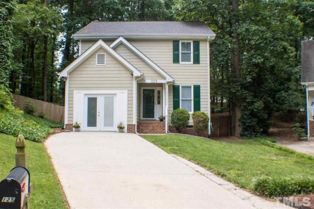 125 Fishers Creek Court, Cary, NC 27513 (#2201079) :: The Perry Group