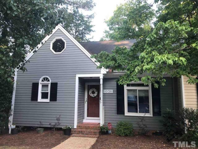 1038 High Lake Court, Raleigh, NC 27606 (#2202040) :: The Perry Group