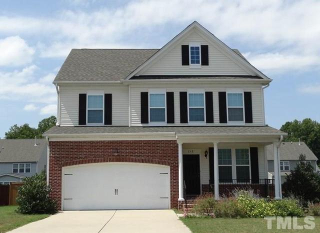 212 Airedale Drive, Holly Springs, NC 27540 (#2204548) :: Marti Hampton Team - Re/Max One Realty