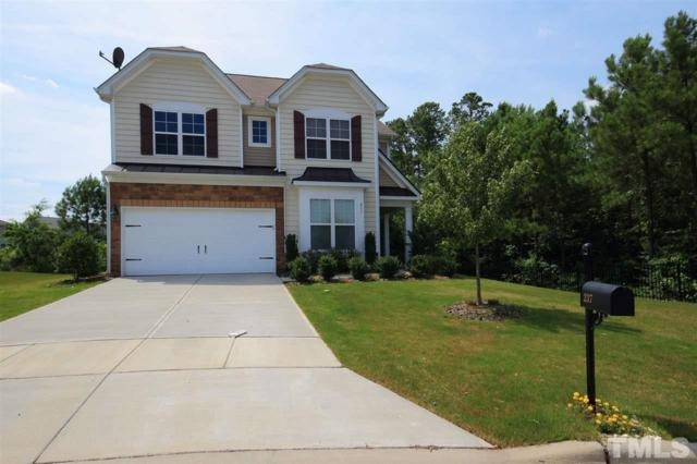 237 Hammond Wood Place, Morrisville, NC 27560 (#2208708) :: The Abshure Realty Group