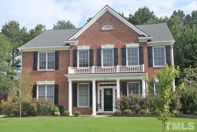 214 Shillings Chase Drive, Cary, NC 27518 (#2210335) :: Raleigh Cary Realty