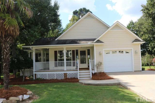 106 Oak Park Drive, Benson, NC 27504 (#2213436) :: Rachel Kendall Team