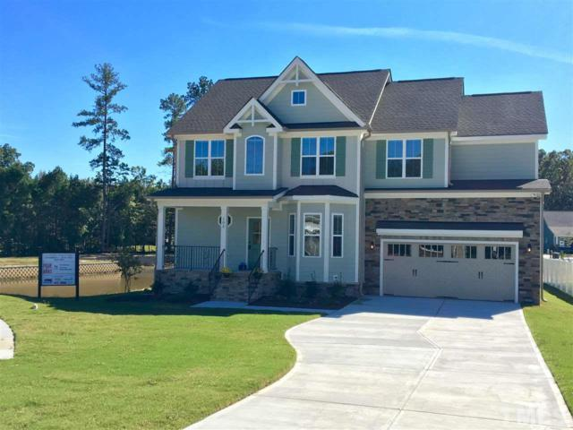 105 Virginia Creek Drive, Holly Springs, NC 27540 (#2219503) :: The Perry Group