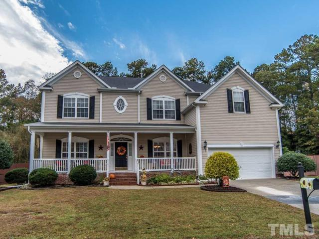 3716 Sawyers Mill Drive, Apex, NC 27539 (#2222855) :: The Perry Group