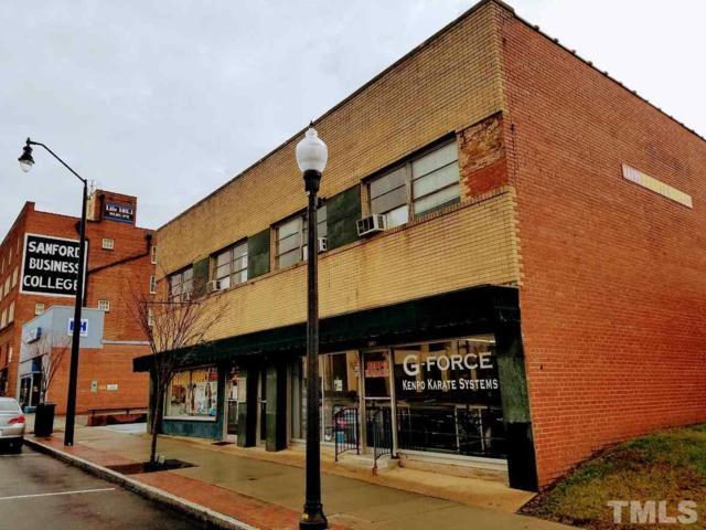 221 Carthage Street, Sanford, NC 27330 (#2228981) :: The Beth Hines Team