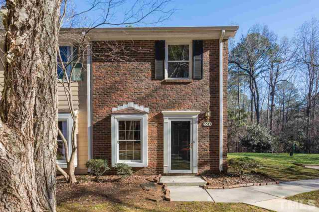 220 Colonial Townes Court, Cary, NC 27511 (#2231704) :: M&J Realty Group