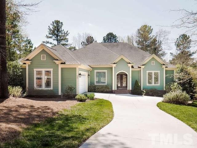 647 Chapel Ridge Drive, Pittsboro, NC 27312 (#2231830) :: Rachel Kendall Team