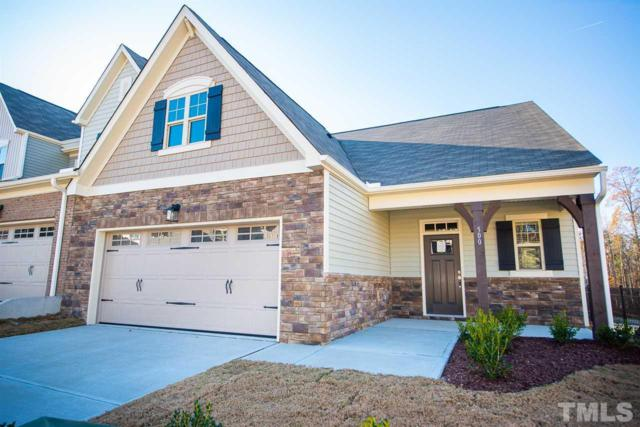 258 Mangia Drive #44, Wake Forest, NC 27587 (#2233216) :: Raleigh Cary Realty