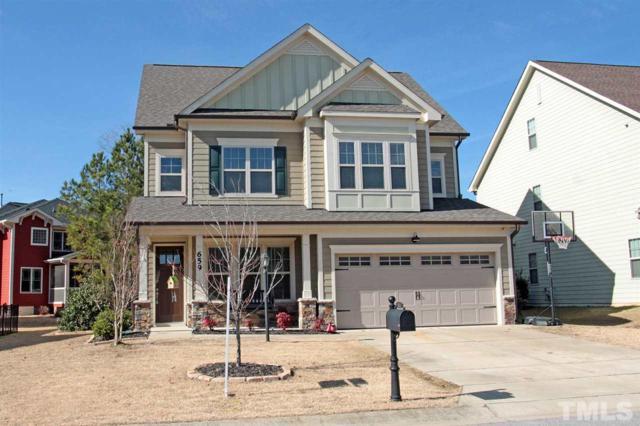 659 Ashe Lake Way, Fuquay Varina, NC 27526 (#2234000) :: The Jim Allen Group