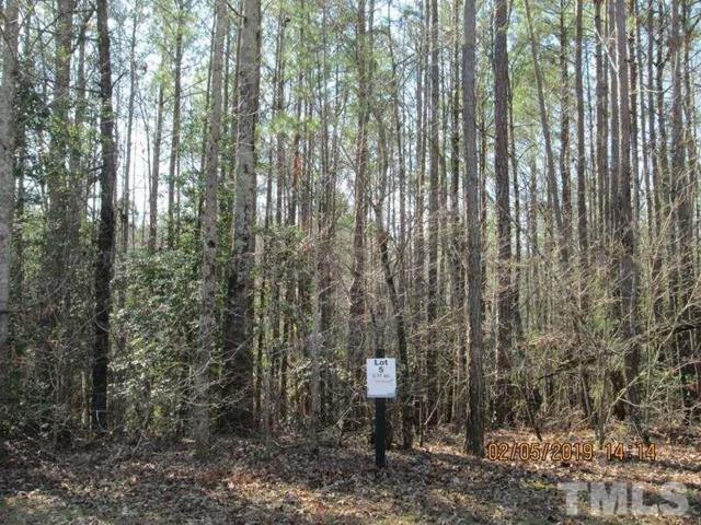 Lot 5 Saintsbury Place, Sanford, NC 27332 (#2234572) :: Dogwood Properties