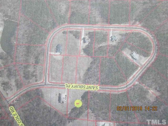 Lot 11 Saintsbury Place, Sanford, NC 27332 (#2234636) :: Dogwood Properties