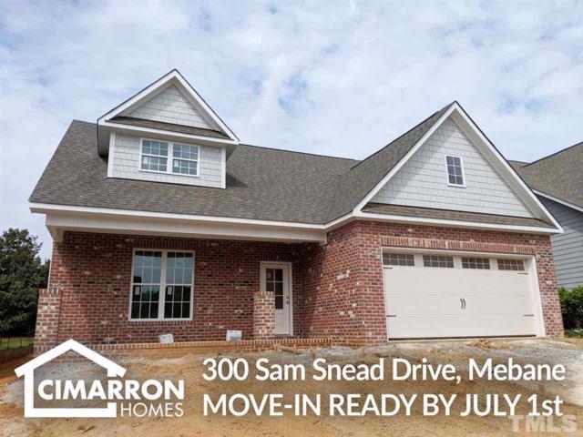 300 Sam Snead Drive, Mebane, NC 27302 (#2251657) :: Marti Hampton Team - Re/Max One Realty