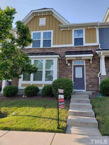 2508 Historic Circle, Morrisville, NC 27560 (#2255614) :: Sara Kate Homes
