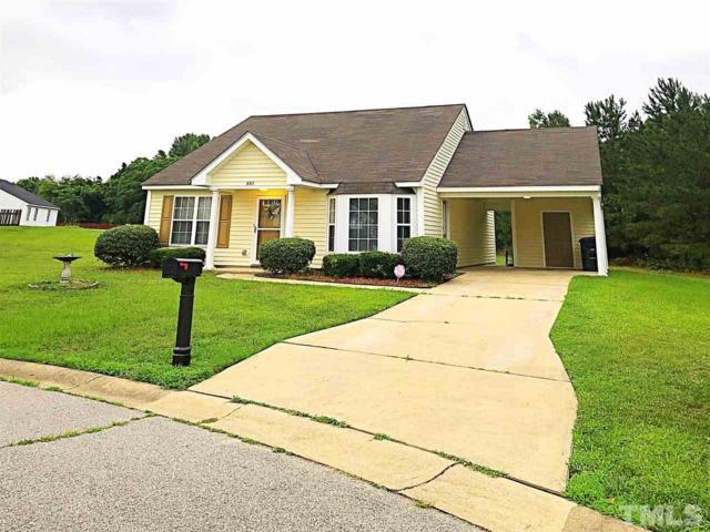 401 Daffodil Way, Rocky Mount, NC 27804 (#2258770) :: Dogwood Properties