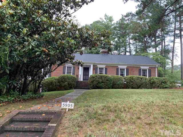 5905 Winthrop Drive, Raleigh, NC 27612 (#2259550) :: Dogwood Properties