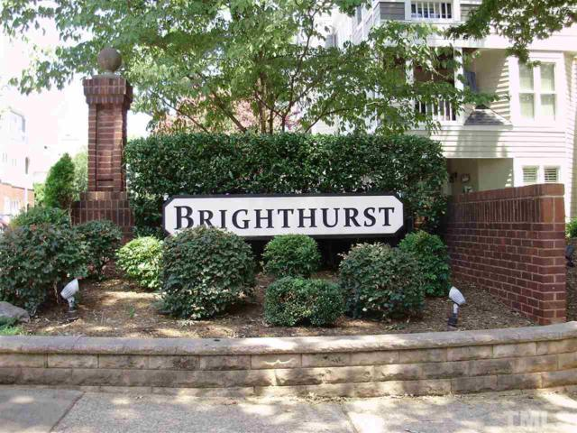 1000 Brighthurst Drive #205, Raleigh, NC 27605 (#2264616) :: Real Estate By Design