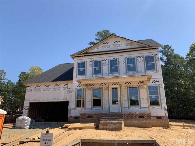 105 Canyon Ledge Drive Lot 43, Holly Springs, NC 27540 (#2266818) :: Raleigh Cary Realty