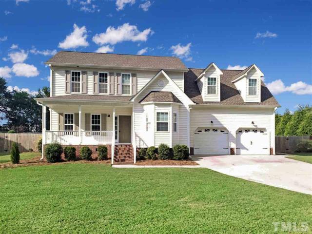 155 Moonlight Drive, Fuquay Varina, NC 27526 (#2268130) :: Sara Kate Homes