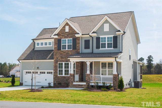 3633 Hickory Manor Drive Lot 20, Apex, NC 27539 (#2275561) :: Marti Hampton Team - Re/Max One Realty