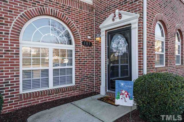 2110 Piney Brook Road #105, Raleigh, NC 27614 (#2286370) :: Spotlight Realty