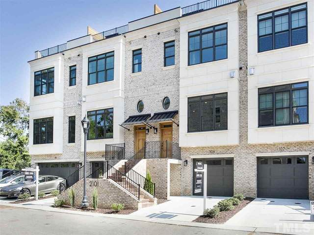 2101 Cameron Manor Way #105, Raleigh, NC 27605 (#2289736) :: Real Estate By Design