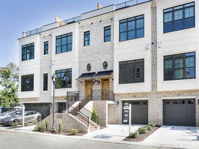 2101 Cameron Manor Way #105, Raleigh, NC 27605 (#2289736) :: RE/MAX Real Estate Service