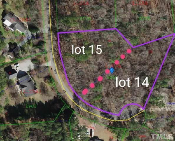 Lot 14,15,16 Colony Ridge, Clayton, NC 27520 (#2291888) :: Marti Hampton Team - Re/Max One Realty