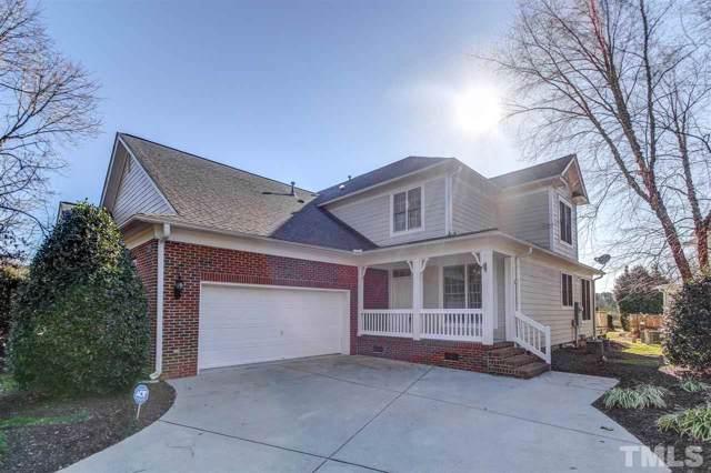 1111 Fairway Villas Drive, Wake Forest, NC 27587 (#2294380) :: Dogwood Properties